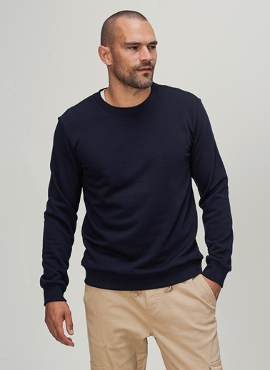 People By Fabrika Sweatshirt Lacivert